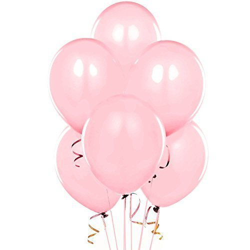 11 Inch Latex Balloons Shimmering Pink  Pkg/72 by