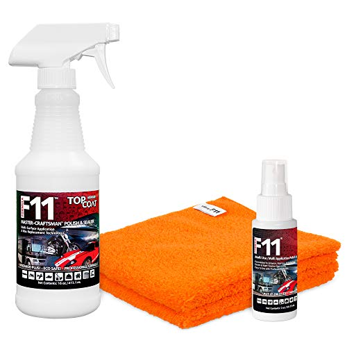 TopCoat F11 Master-Craftsman Polish & Sealer (Best Way To Clean A Boat Cover)