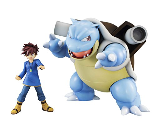 Megahouse Pokemon: Gary & Blastoise GEM PVC Figure