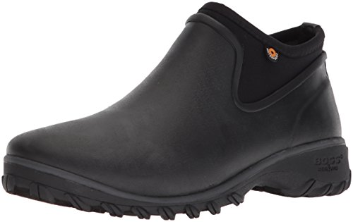 BOGS Women's SAUVIE Chelsea Snow Boot, Black, 9 Medium US