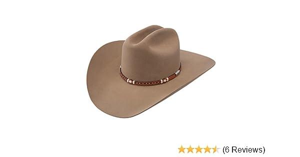 a4e460703 Stetson Men's 6X Monterey Fur Felt Cowboy Hat