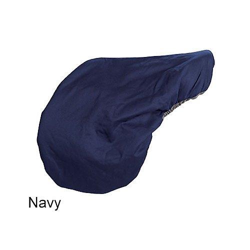 Lettia Fleece Lined Dressage Saddle Cover Navy