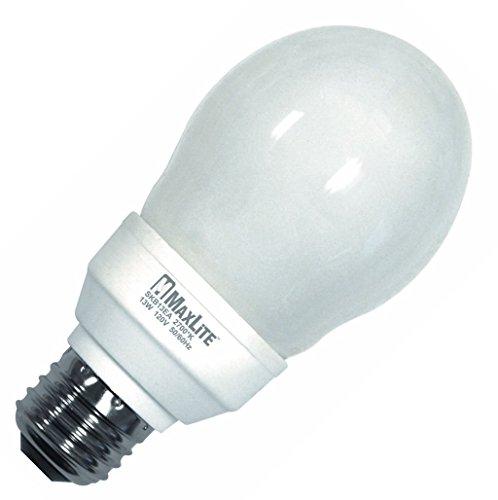 Maxlite SKB13EAWW CFL Screw-in Light Bulb Indoor Energy Star Warm White 31533 6 pack
