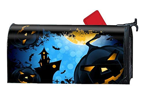 Magnetic Large Mailbox Cover Holiday Halloween Mail Box Covers Magnetic Mailbox Cover 9