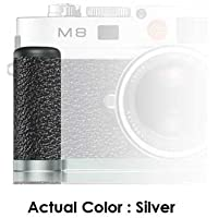 Leica M8.2 Handgrip Silver with Vulkanit Leather