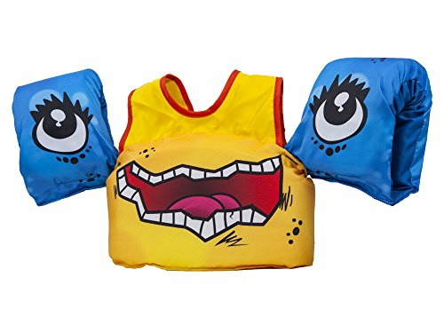 (Body Glove 13226-Monster Aquatic Monster Swim Life Jacket)