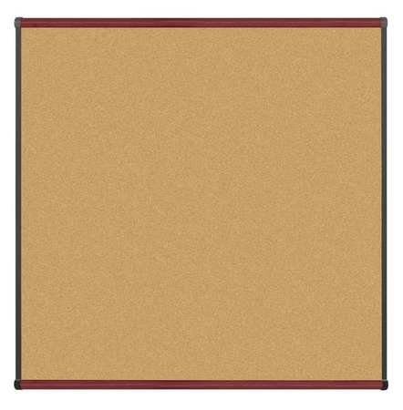 Cork Bulletin Board 48''x48'' by Best-Rite