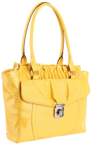 KATHY Van Zeeland Center Of Attention Tote,Sunshine,One Size