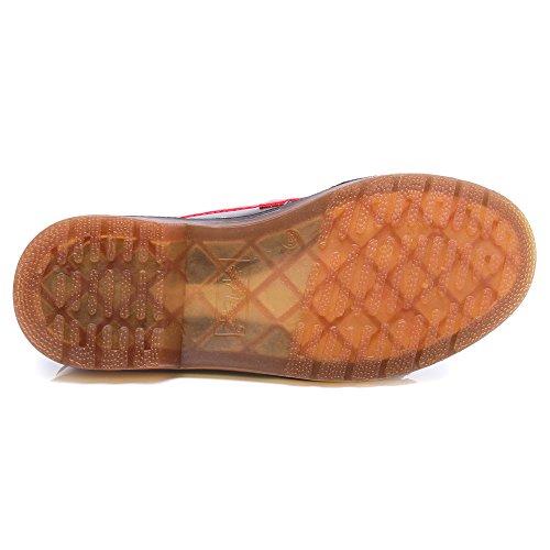 Petits HUDONGBO Bordeaux femme talons Court Shoes Un4qnxwRA