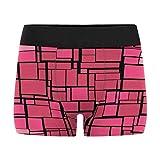 InterestPrint Boxer Briefs Men's Underwear Stained Glass Imitation XXL