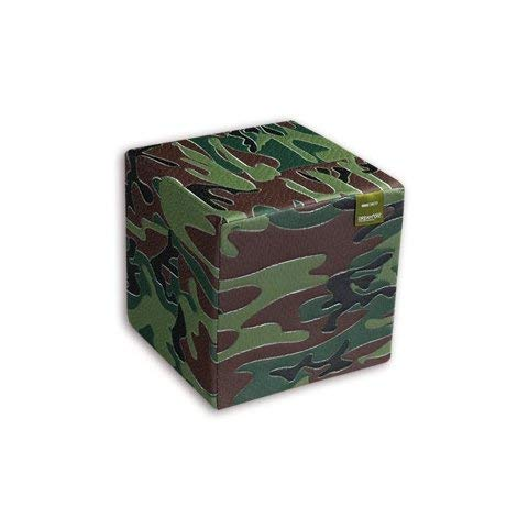 ventas calientes 50x50x40 cm Castiflex Castiflex Castiflex Puf Camuflaje kubotto  venta