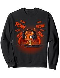 Dragon Video Gamer Sweatshirt Dragon Sweatshirt For Gamers