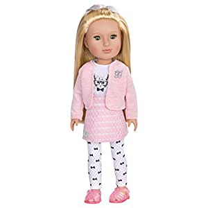Glitter Girls by Battat – Fifer 14 inch Fashion Doll - Dolls for Girls Age 3 and Up - Doll, Clothing and Accessories - Children's Toys