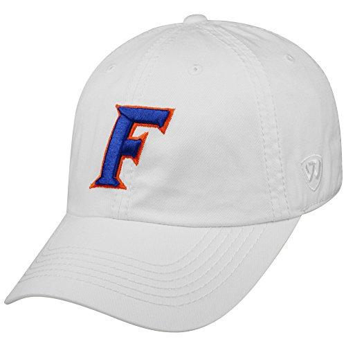Elite Fan Shop Florida Gators Hat Icon White - White Blue Orange