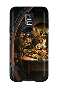New Style 9816009K26691642 Premium Protective Hard Case For Galaxy S5- Nice Design - 2012 The Hobbit