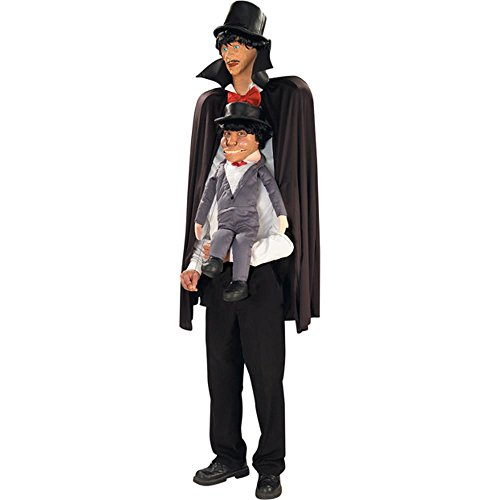 [Adult Ventriloquist Dummy Costume (Size: Standard 42)] (Ventriloquist Doll Costumes)