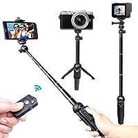 Deals on Venfoto 39.4 in Extendable Selfie Stick Tripod
