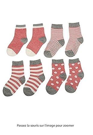 XPartner Calcetines de algodón para bebés Ocasionales Calcetines Unisex para niños Calcetines cálidos de Primavera y otoño