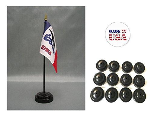 Iowa State Desk (Made in the USA!! Box of 12 Iowa 4