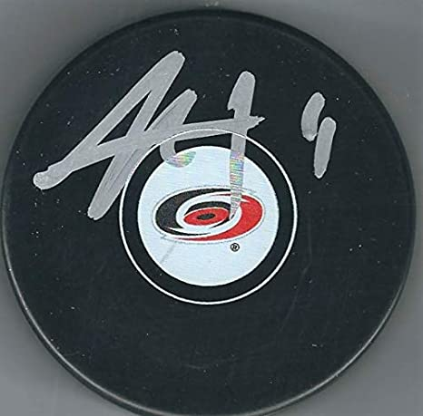 Image Unavailable. Image not available for. Color  Autographed Jordan Staal  Carolina Hurricanes ... 541ee26f7
