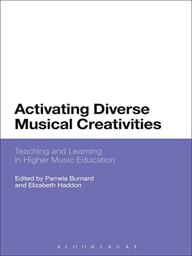 Download Activating Diverse Musical Creativities: Teaching and Learning in Higher Music Education Pdf