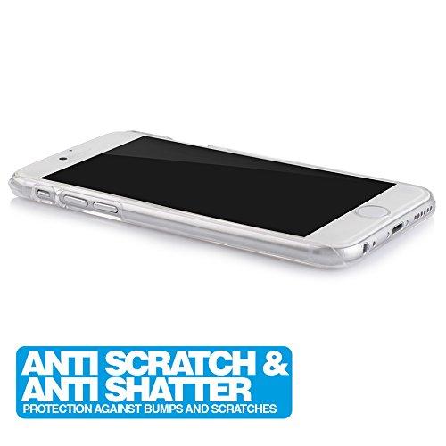 iPhone 6 / 6s Ultra Slim Handyhülle / Schutzhülle / Handy-Schale Case Smartphone Cover | Extrem Dünn & Leicht | Crystal Case | 100% passgenaue Hülle für Apple iPhone 6/6s (4,7'') von MC24