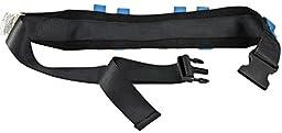 Secure Transfer Walking Medical Gait Belt with 6 Caregiver Hand Grips - Patient Ambulation Assist (52\