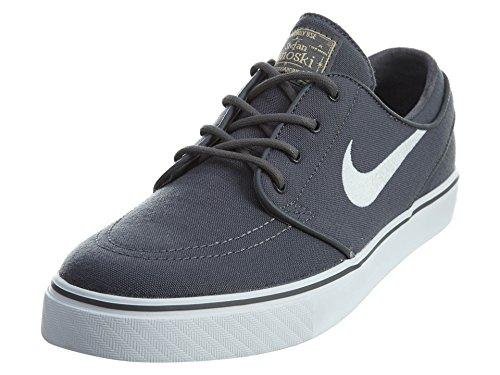 Nike Men's Zoom Stefan Janoski L Skate Shoe (5 D(M) US, Drk Gry/White/Gm Lght