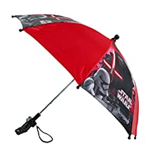 CTM Kids' Disney Star Wars Stick Umbrella with Character Handle