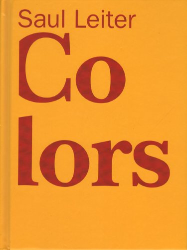 Saul Leiter: Colors pdf epub