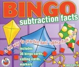 Carson-Dellosa Math Bingo Game - Subtraction Carson Dellosa Addition Bingo