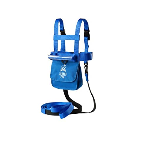 Ski Trainer Harness with Shock Absorb Leashes (Edgie Wedgie And Harness)