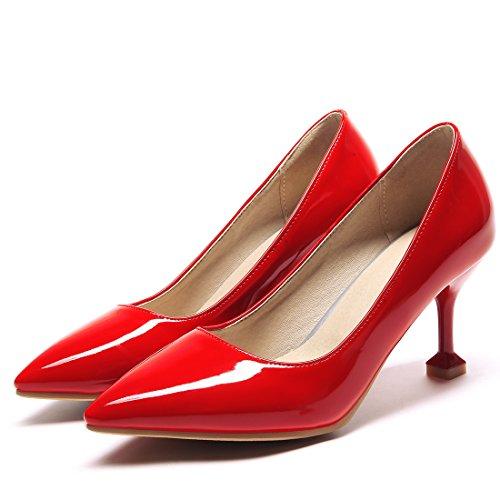 Agodor 4A22182 9 Mujer HSY x Cerrado Rojo qpCtqar