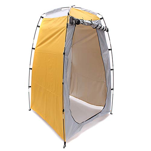 salaheiyodd Portable Pop Up Tent Privacy Shelter Dressing Changing Privy Tent Cabana Screen Room Weight Bag for Camping Shower Fishing Bathing Toilet Beach Park, Carrying Bag Included