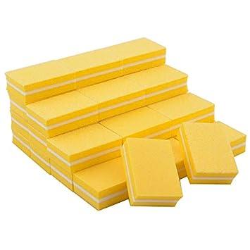 Amazon.com: Renovatio Store - 100pcs Double-Sided Nail Files Block ...