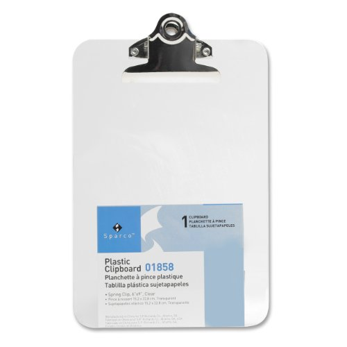Richards Company Transparent Clipboard SPR01858