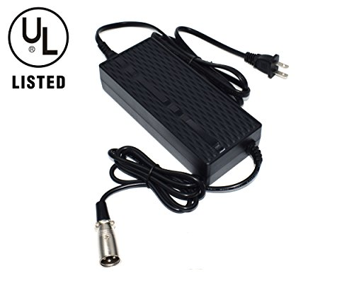 FuShield 48V 2A E-Bike Lithium Battery Charger with Indication Light (XLR Connector Male)