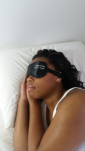 Price comparison product image Lazy Lidz Sleep Mask - Best Eye Mask for Sleeping - Use Day or Night to Block the Light and Promote Restful Sleep - You'll Finally Get Your Beauty Rest GUARANTEED - Free Earplug Gift with Purchase
