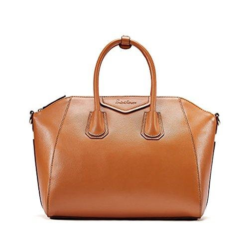 color Texture Simple Black Bag Multi small Retro Ladies Handbag Color Messenger Capacity Optional Special Shoulder Milkyellow large Large Fzq5Pw6n5x