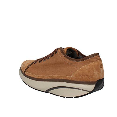 MBT Sneakers Uomo 42 EU Marrone Tessuto Camoscio