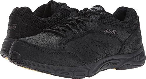 Avia Women's Avi-Care Field Hockey Shoe, Black/Iron Grey, 7.5 W (Leather Field Sneakers)