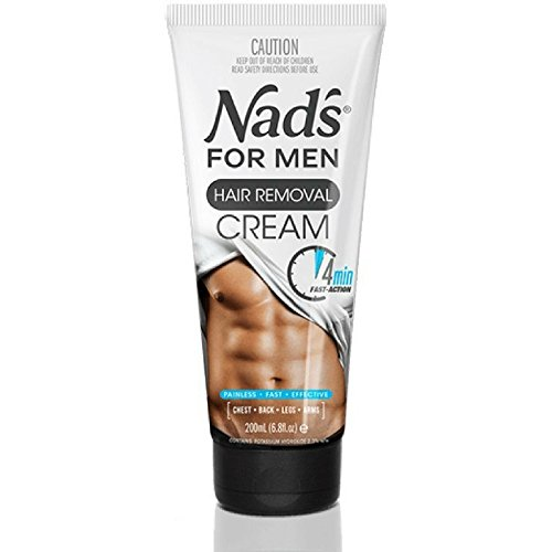 Nad's for Men Hair Removal Cream 6.8 oz (Pack of 3)
