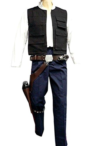 Star Wars Han Solo ANH Full Costume Belt Holster Droid Caller Set (Han Solo Star Wars Costume)