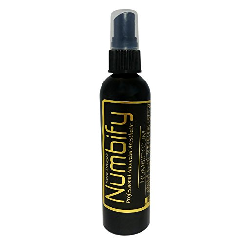 Numb-ify Numbing Spray 5% Lidocaine Extra Strength Anesthetic - Numb-ify's Strongest/Best Pain Relief & Numbing Spray (4 Oz) - Lidocaine Spray