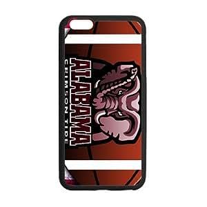 Generic Custom Extraordinary Best Design NCAA Alabama Crimson Tide Team Logo Plastic and PC For SamSung Galaxy S6 Phone Case Cover 5.5