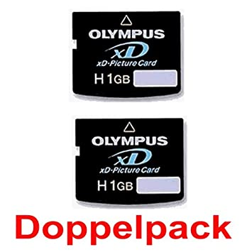 Olympus XD 1 GB - HIGH SPEED - Doble pack - Pack de ahorro ...