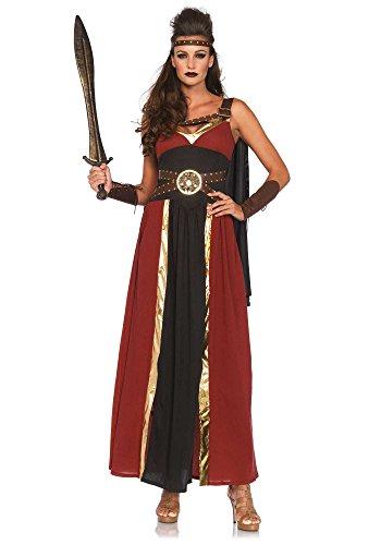 Leg Avenue Women's 3 Piece Regal Warrior Costume, Multi, Large