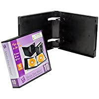 Empty UniKeep 10 Disc Wallet - Case of 20 - Black