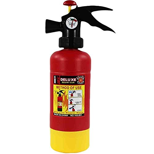 BININBOX Fire Extinguisher Water Gun Soakers Toys for Children Pressure Playing]()