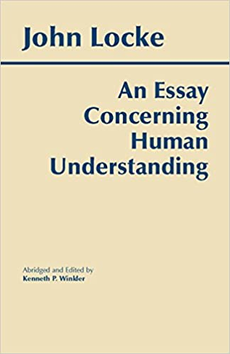 Amazon com an essay concerning human understanding hackett